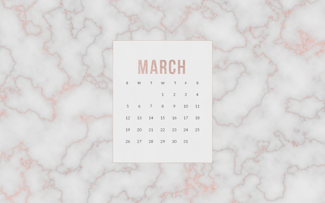 Free March 2017 Calendar Wallpapers Posh Pixels Co